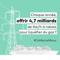 Image Campagne contre GNL Québec - consommation électricité