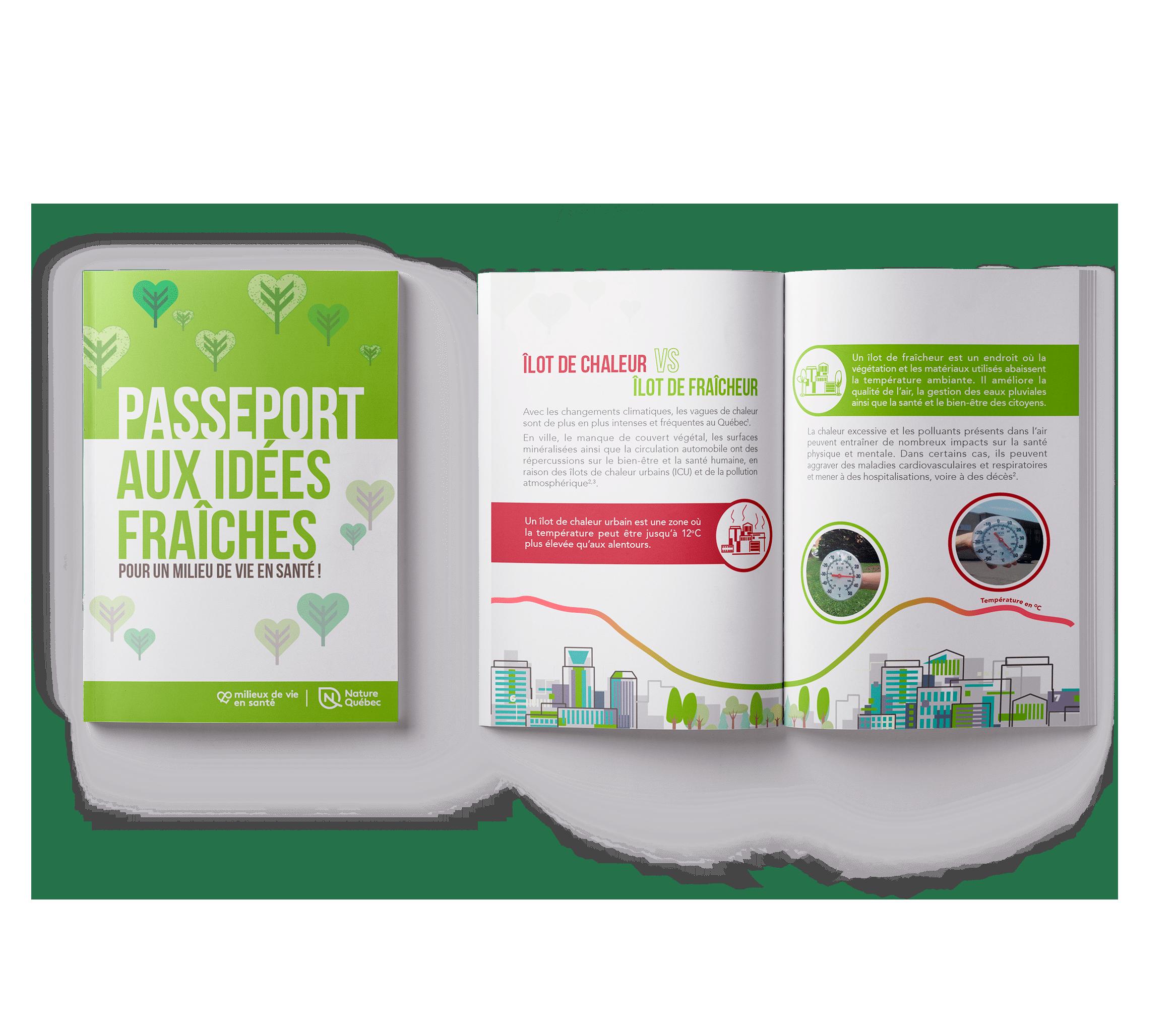 Passeport aux idées fraîches