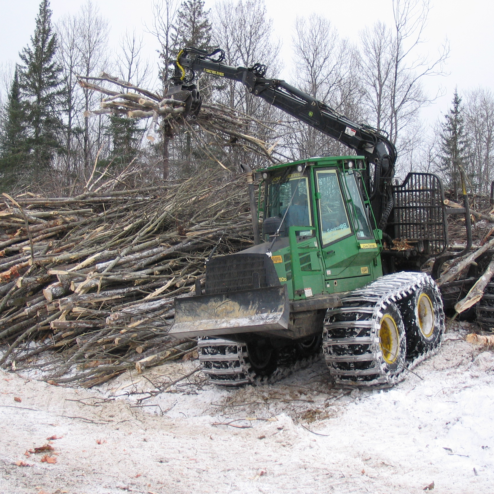 Industrie de foresterie à Matapédia