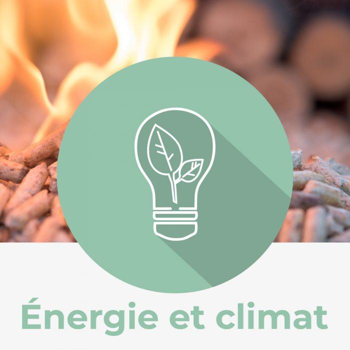 Icône énergie et climat nature québec