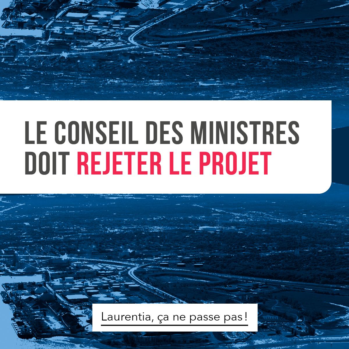 Communiqué - L'Agence d'évaluation d'impact et le ministre de l'Environnement du Canada concluent que Laurentia aurait des impacts négatifs importants