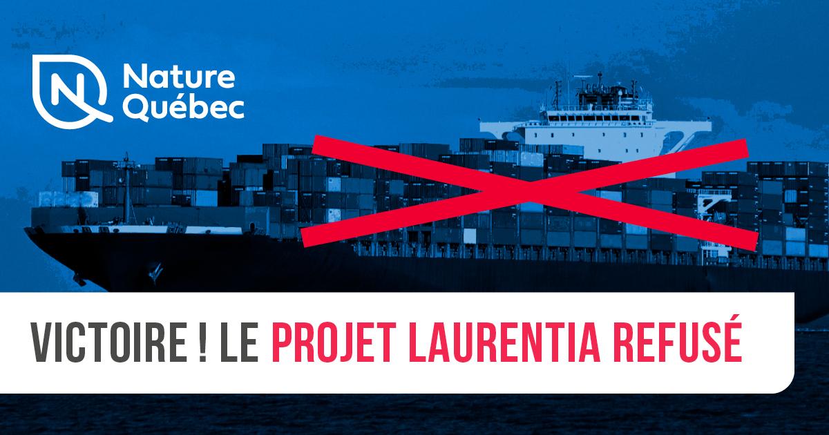 Communiqué - Le refus de Laurentia est une grande victoire citoyenne qui ferme définitivement la porte à tout projet d'agrandissement industriel du Port de Québec