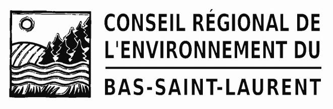 logo du conseil régional de l'environnement du Bas-Saint-Laurent