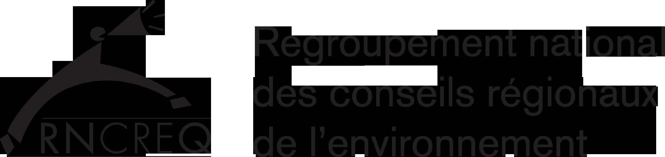 Logo du regroupement national des conseils régionaux de l'environnement