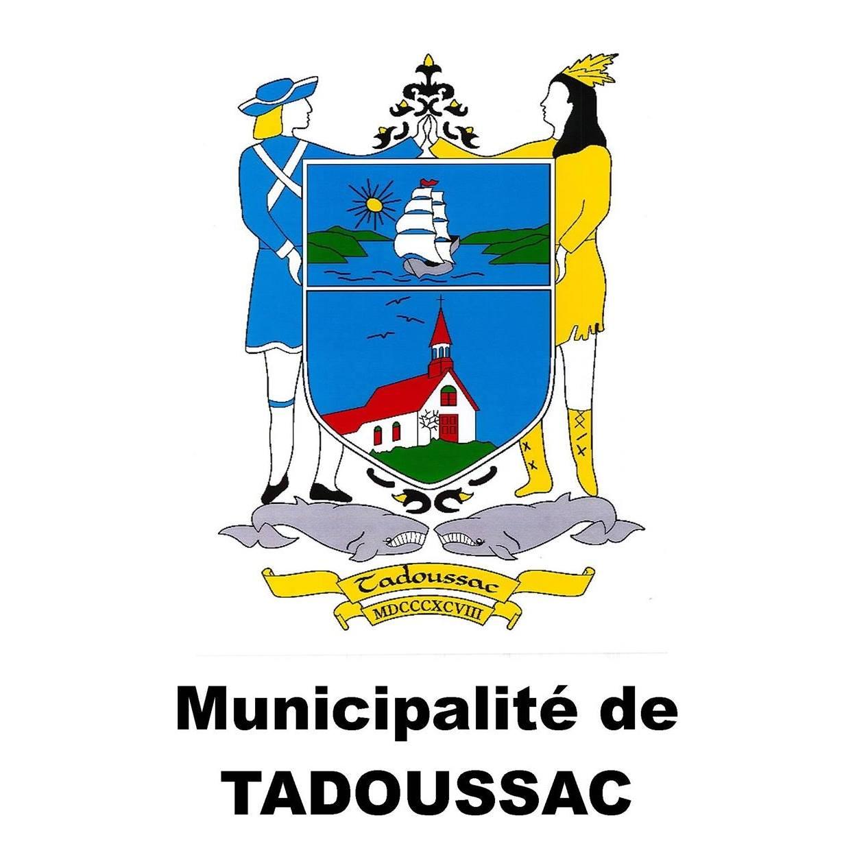 logo de la municipalité de Tadoussac
