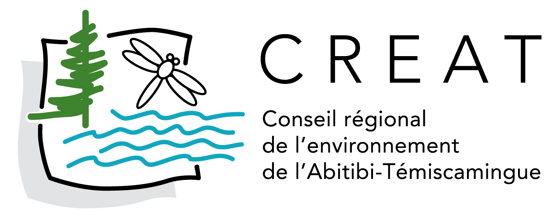 Logo du conseil régional de l'environnement de l'abitibi-témiscamingue