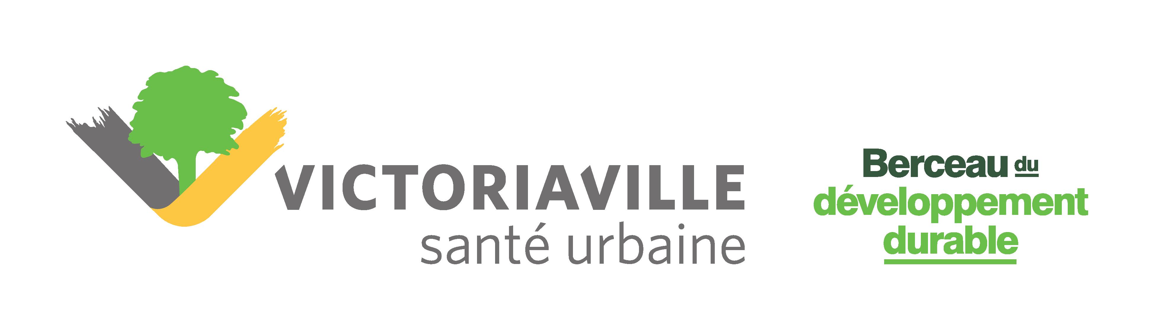 logotype de victoriaville et slogan