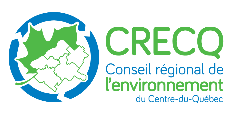 Logo du conseil régional de l'environnement du Centre-du-Québec
