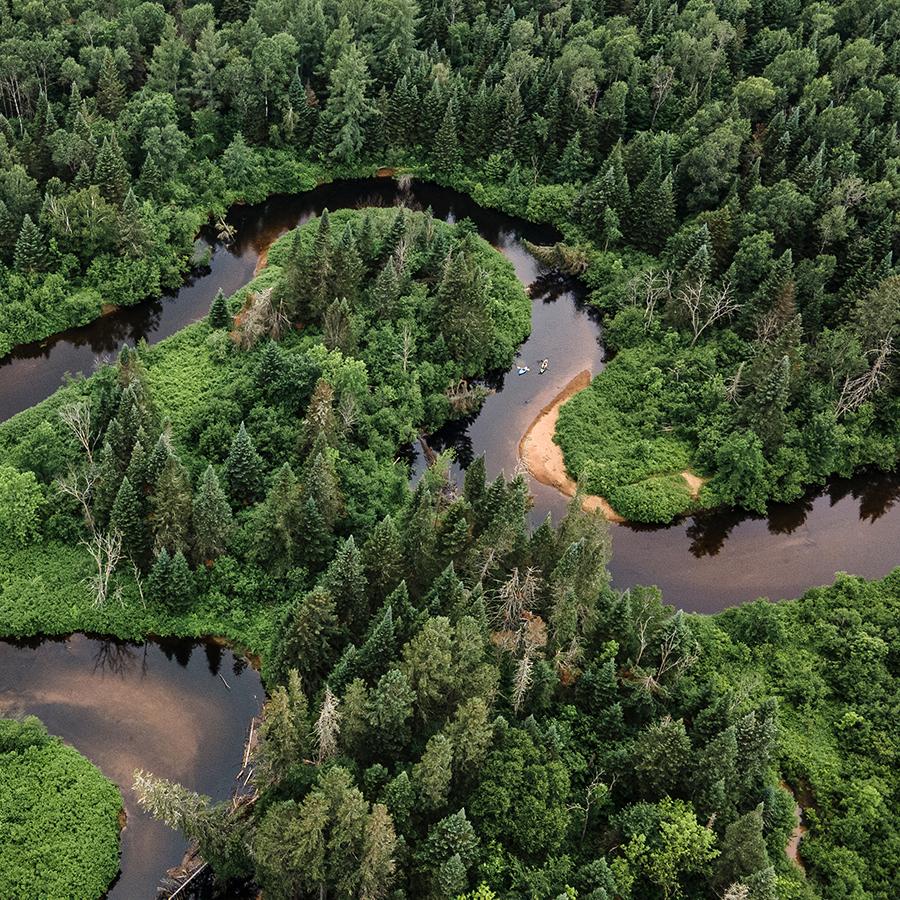 Photo du marais du nord par Mélanie Jean